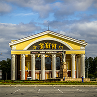 Здание музыкально-драматического театра Петрозаводска, фото №2