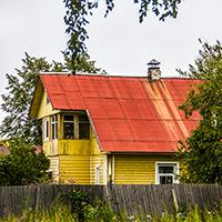 Дом Орехова в Старом городе, вид со двора, фото №2