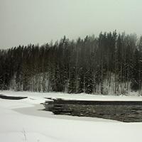 Порог Юманишки зимой, фото №1