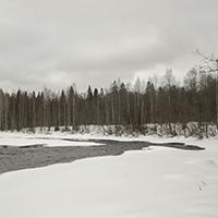 Порог Юманишки зимой, фото №3