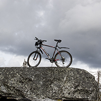Велосипед на сейде «Столешня»
