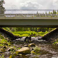 Мост через реку Маньга, фото №1