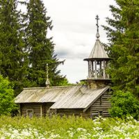 Фото часовни Иоанна Богослова в Котчуре №1