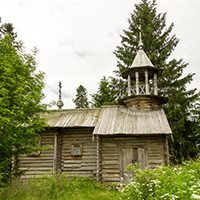 Фото часовни Иоанна Богослова в Котчуре №2