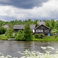 Деревня и озеро Каскеснаволок