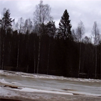 Ледовый затор после Игнойльской ГЭС 29.04.2012