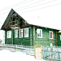 Дом в Сямозере №1 - фото №1